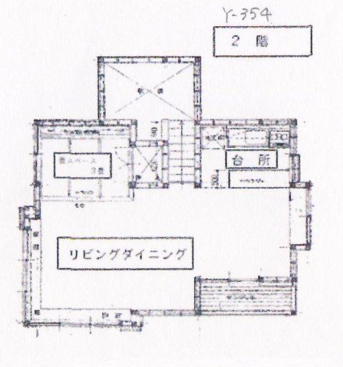 Y-354 2階間取
