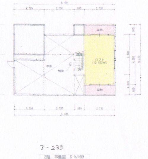 T-233 2階間取図