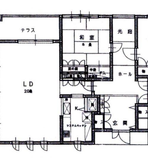 k-424-1 1階間取図