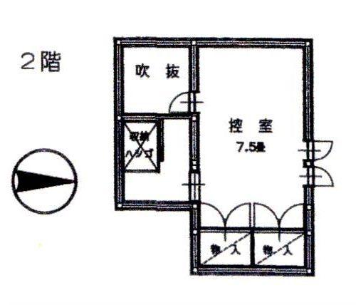 k-424-1 2階間取図
