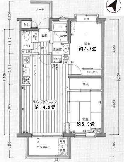 20486-ra-203-間取図